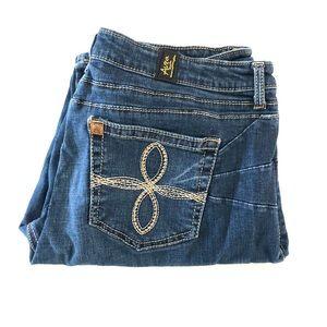 Aura By Wrangler Women's Denim Jeans Size W16